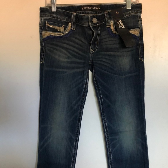 Express Denim - NWT Express skinny low rise jeans size 4s